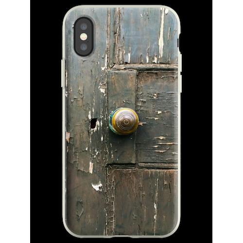 Verschlossene Tür Flexible Hülle für iPhone XS