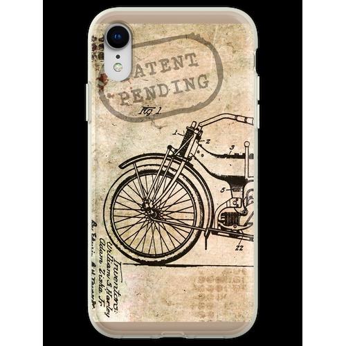Motorrad Fahrrad Harley Flexible Hülle für iPhone XR