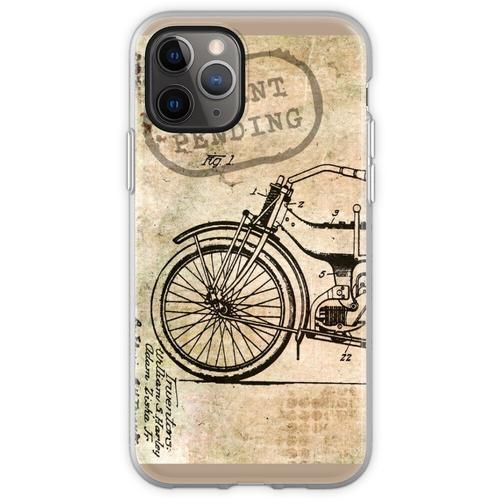 Motorrad Fahrrad Harley Flexible Hülle für iPhone 11 Pro