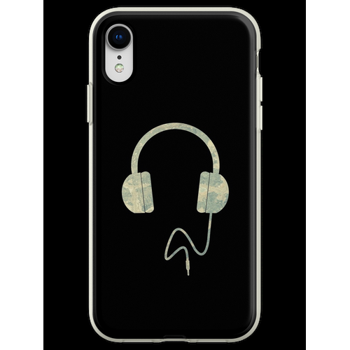 Kopfhörer Overear Flexible Hülle für iPhone XR
