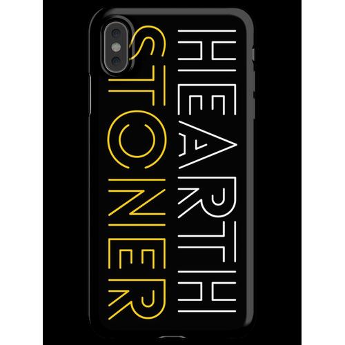 Hearthstone Player oder Hearthstoner Minimal Design iPhone XS Max Handyhülle