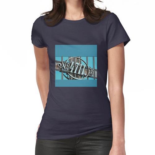 4711, butiful, T-Shirt Mischtechnik Farbe Frauen T-Shirt