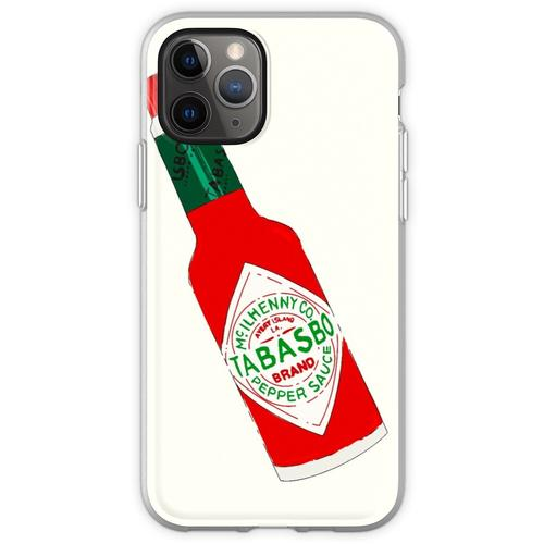 Tabasco Hot Sauce Flasche (Tabasbo) Flexible Hülle für iPhone 11 Pro