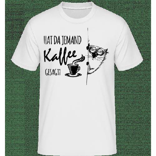 Kaffee Katze - Shirtinator Männer T-Shirt