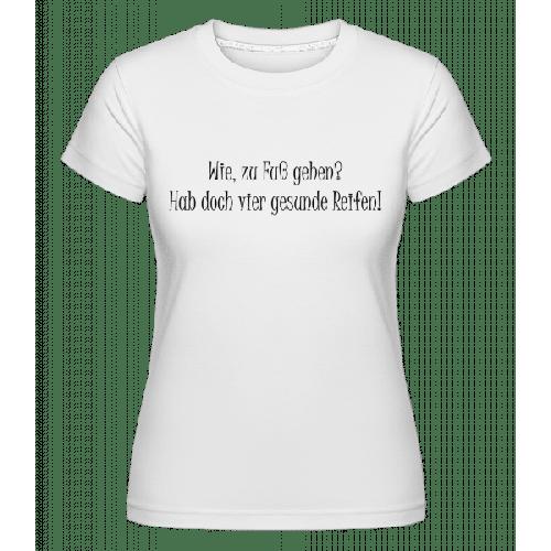 Vier Gesunde Reifen - Shirtinator Frauen T-Shirt