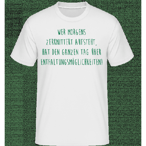 Entfaltungsmöglichkeiten - Shirtinator Männer T-Shirt