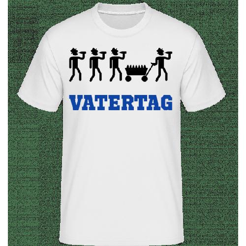 Vatertag Bollerwagen - Shirtinator Männer T-Shirt