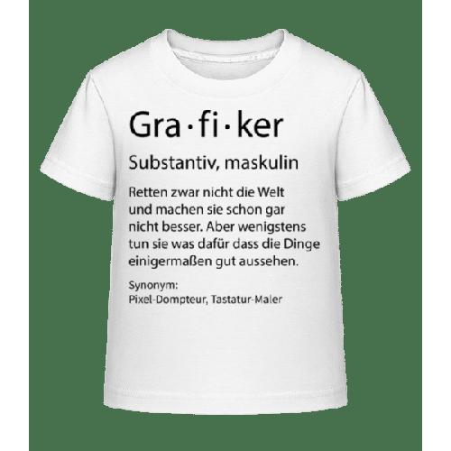 Grafiker Quatsch Duden - Kinder Shirtinator T-Shirt