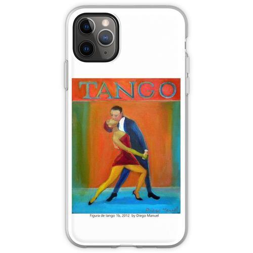 Figur des Tango 1b, 2012 von Diego Manuel Flexible Hülle für iPhone 11 Pro Max