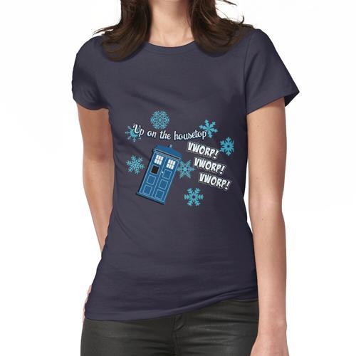 Oben auf dem Hausdach Frauen T-Shirt
