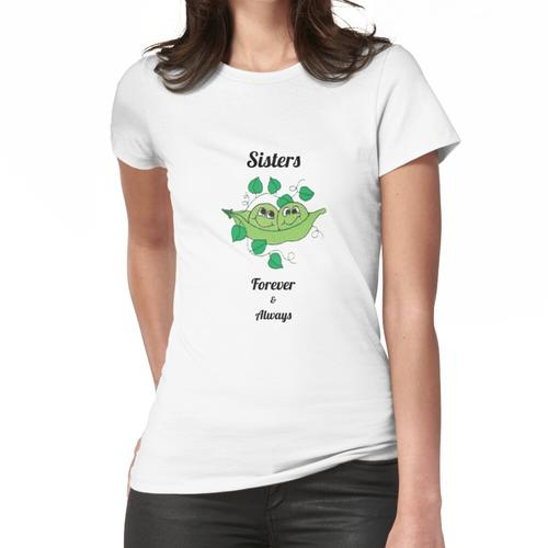 Schwestern für immer - beste Schwestern - große Schwester - meine Schwester - Schwes Frauen T-Shirt