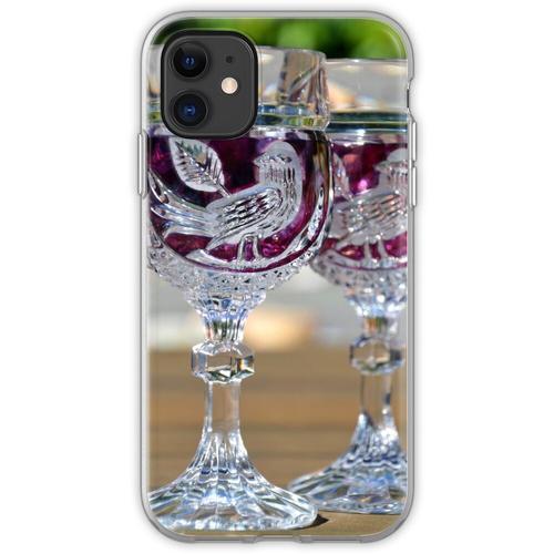 Kristall Weingläser Flexible Hülle für iPhone 11