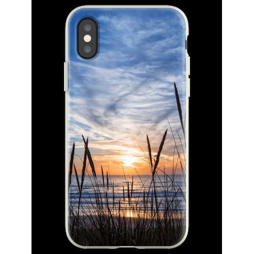 Strandhafer Flexible Hülle für iPhone XS