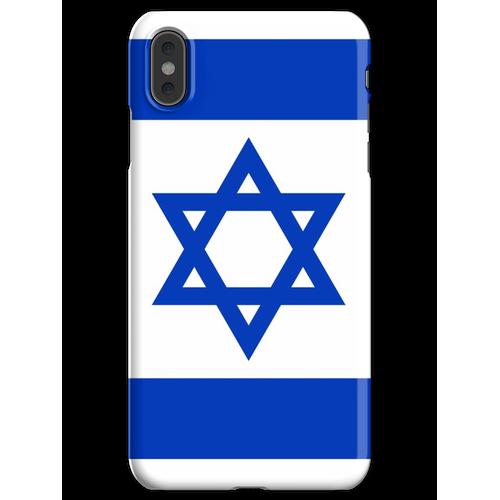 Israelische Flagge Israelischer Patriot iPhone XS Max Handyhülle
