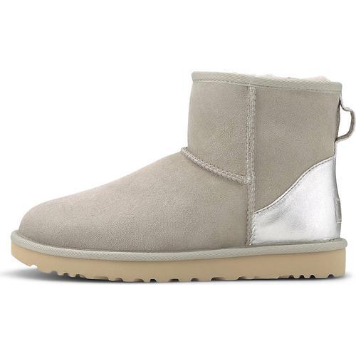 UGG, Boots Classic Mini Ii Metallic in beige, Stiefel für Damen Gr. 38