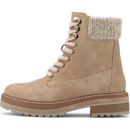 COX, Winter-Boots in beige, Boots für Damen Gr. 37