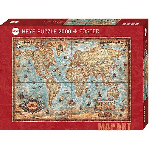 Puzzle The World, 2000 Teile