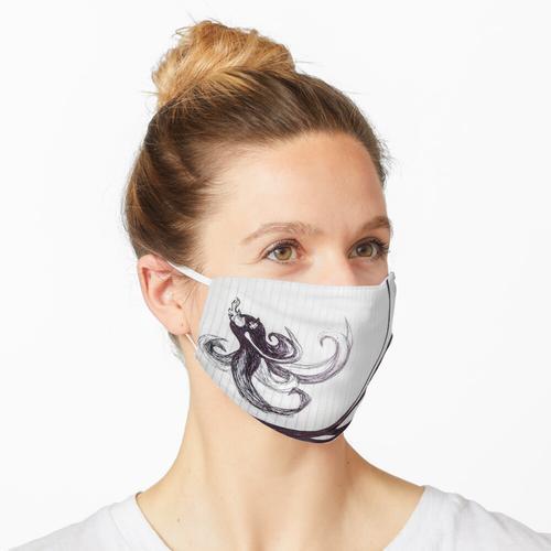 Geisterhaftes Antlitz Maske