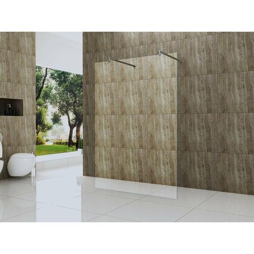 freistehende 10 mm Duschtrennwand VACANTE-SOLO 180 x 200 cm