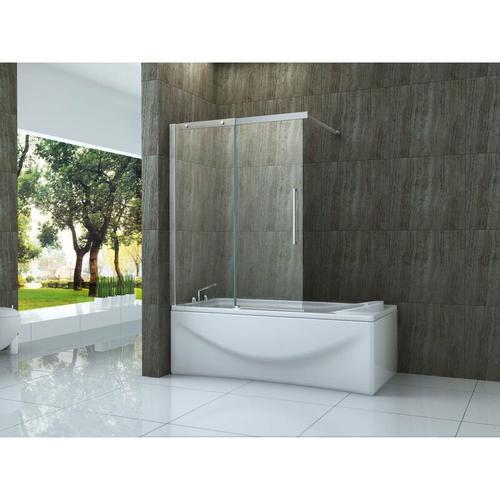 Schiebetür-Duschtrennwand TRAMO 140 x 150 (Badewanne)