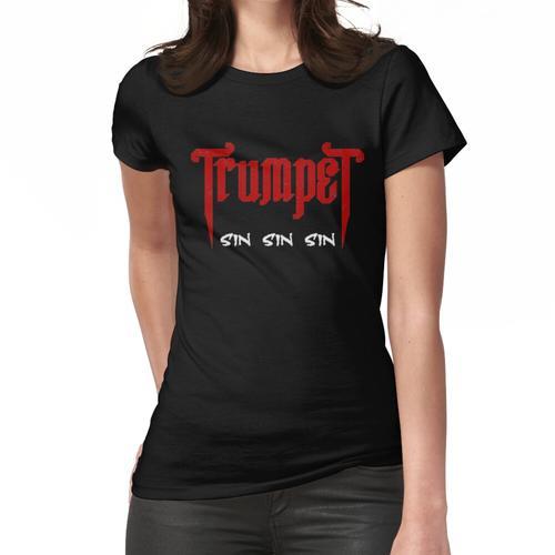 Trompete Sinner Black Tee Frauen T-Shirt