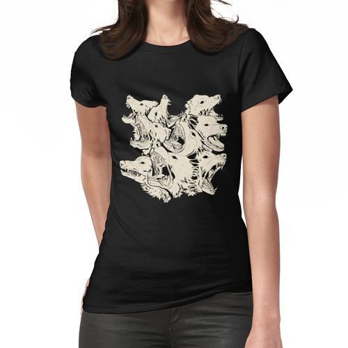 Neunköpfiges Tier Frauen T-Shirt