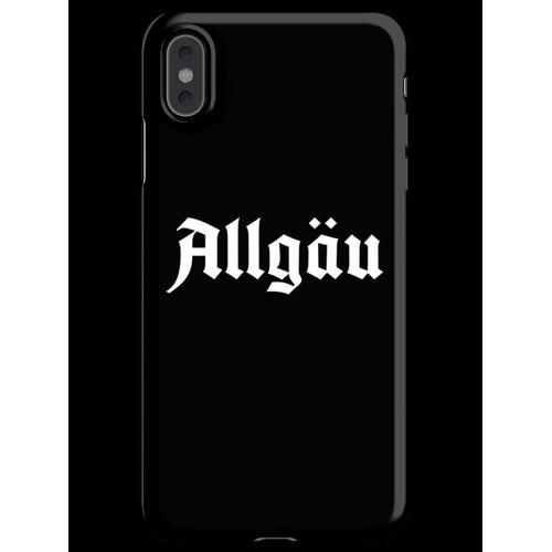 Allgäu Schriftzug - Allgäu Design - Allgäu für Allgäuer iPhone XS Max Handyhülle