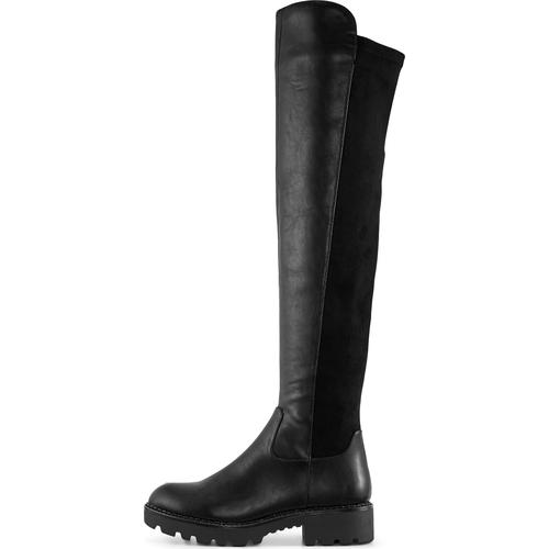 Buffalo, Overknee-Stiefel Mireya in schwarz, Stiefel für Damen Gr. 39