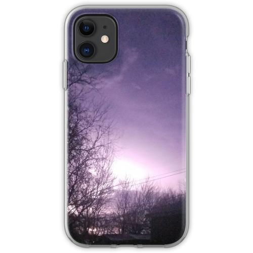 Blitzeinschläge Flexible Hülle für iPhone 11