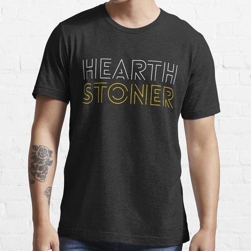 Hearthstone Player oder Hearthstoner Minimal Design Essential T-Shirt