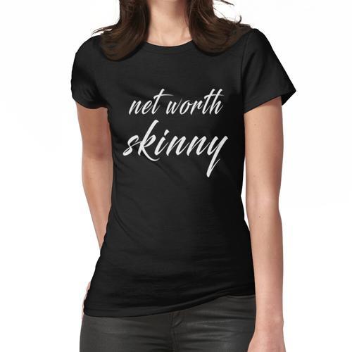 Skinny Shirt im Wert von 2020 T-Shirt Shark Tank Kaffee Slim Fit T-Shirt Frauen T-Shirt