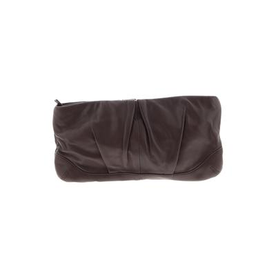 Clutch: Brown Solid Bags