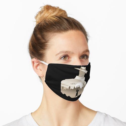 Spionage Auge Maske