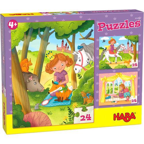 HABA Puzzles Prinzessin Valerie, bunt