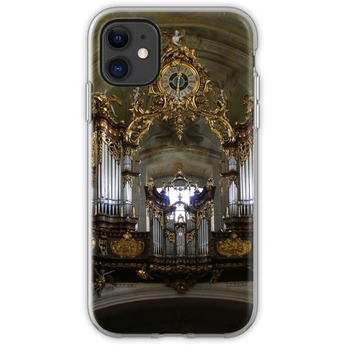Pfeifenorgel Mariahilfer Kirche, Wien Österreich Flexible Hülle für iPhone 11