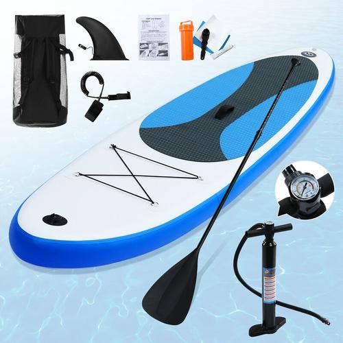 Youthup - Aufblasbares Stand Up Paddle Surfbrett 300 x 76 x 10 cm Tragbares aufblasbares SUP Board