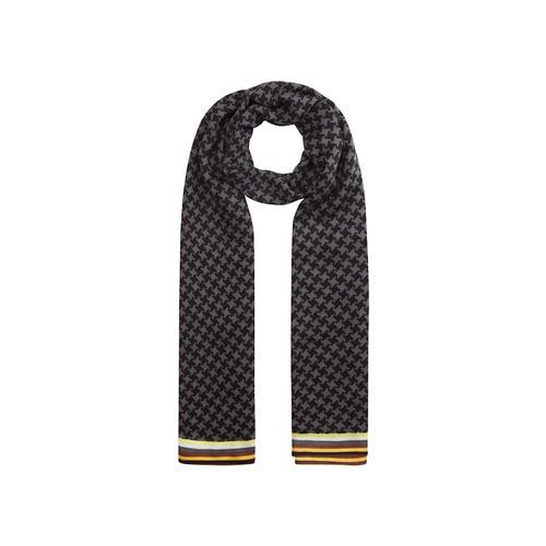 XL-Schal mit Hahnentritt-Dessin Codello grey