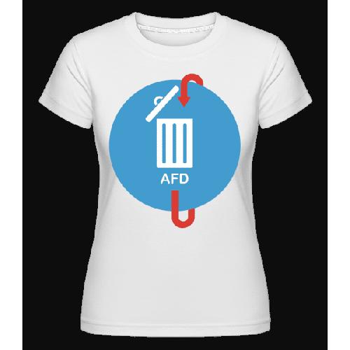 AFD Mülleimer - Shirtinator Frauen T-Shirt