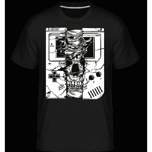 Gameboy Skull - Shirtinator Männer T-Shirt