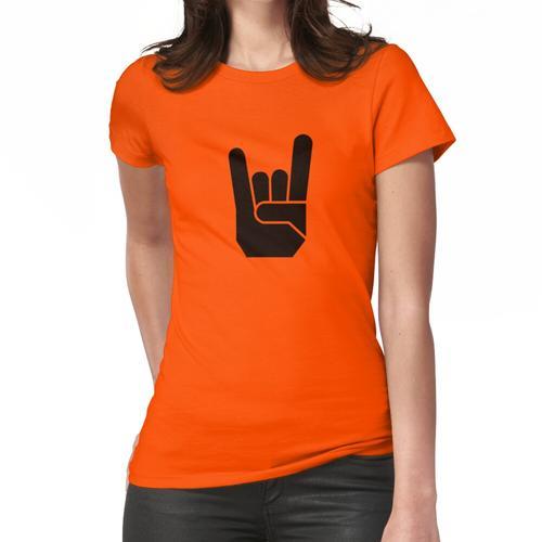 Devilhand - Pommesgabel - Rock Hand Frauen T-Shirt