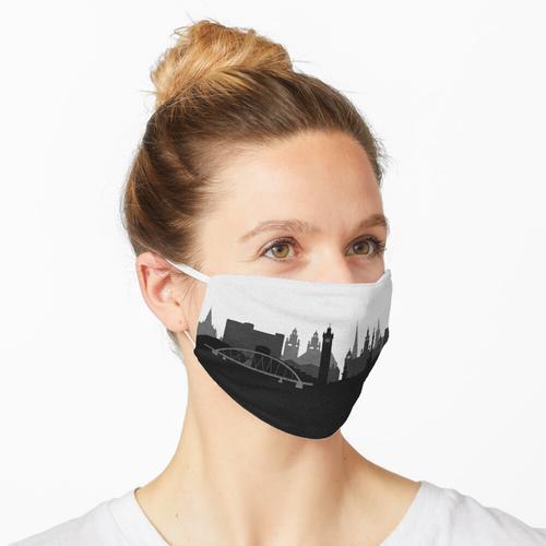 Reise Poster   Ziel: Glasgow Maske