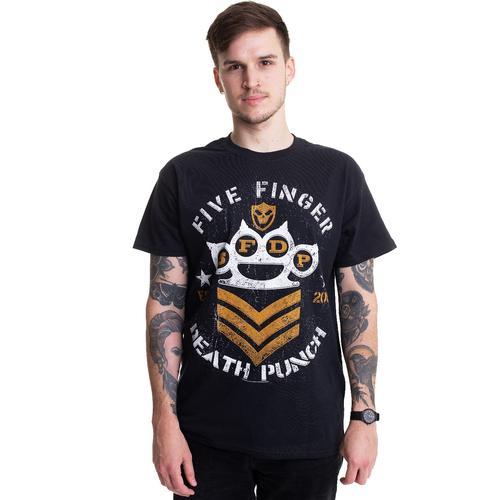 Five Finger Death Punch - Chevron - - T-Shirts