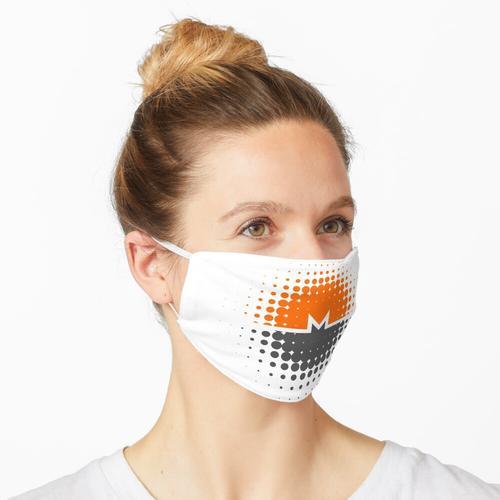 Monero-Münze Maske