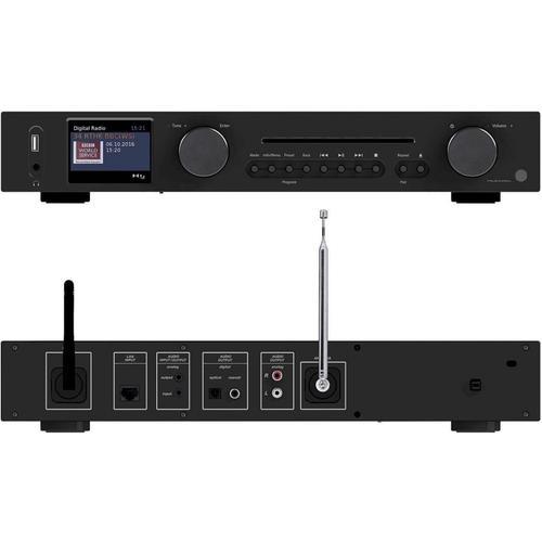 VR-Radio WLAN-HiFi-IRS-695.cd Tuner mit Internetradio, CD, DAB+, UKW & Bluetooth, MP3/WMA