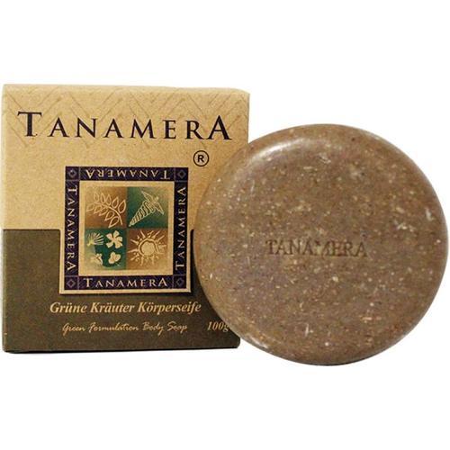 Tanamera Grüne Kräuter Körperseife 100 g Stückseife