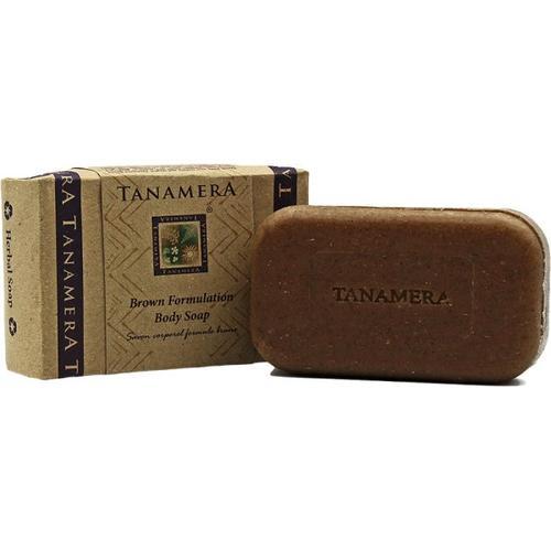 Tanamera Braune Körperpeeling Seife 125 g Stückseife