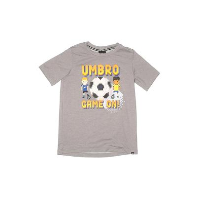 Umbro Active T-Shirt: Gray Solid...