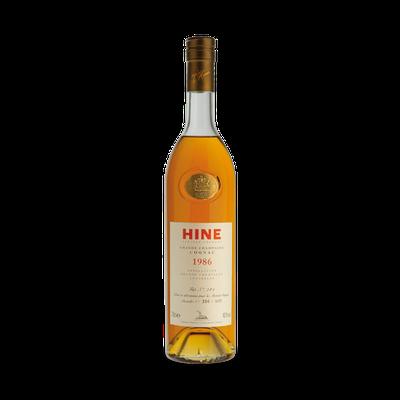 Cognac Hine 1986...