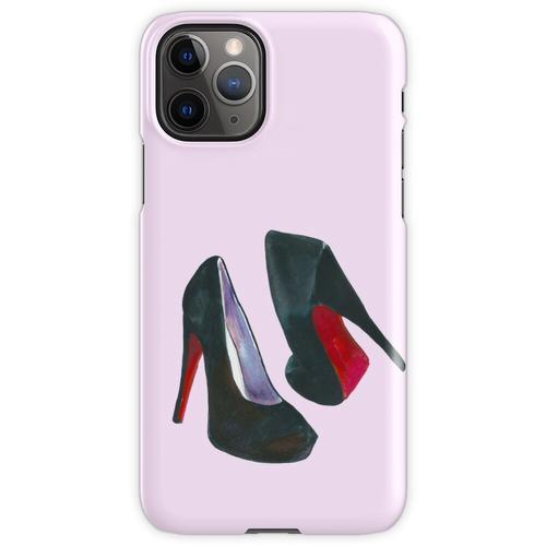 Schwarze Damenschuhe iPhone 11 Pro Handyhülle