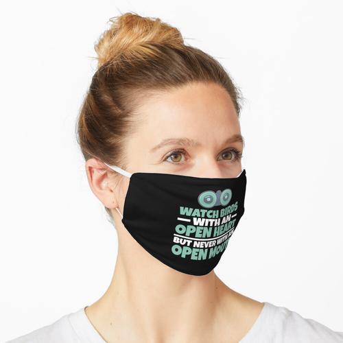 Vogel-Liebhaber-Vogelbeobachtungs-Fernglas-Geschenk Maske